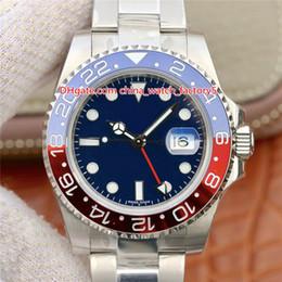 6 Stil Beste Qualität EW Maker 40mm GMT Batman World Pepsi Basel 126711 126710 116719 Keramikplatte CAL.2836 Automatische Herrenuhr Uhren von Fabrikanten