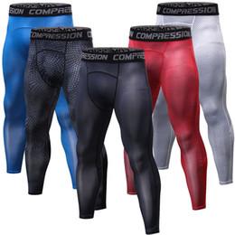 2018 Nouveau Compression musculaire Pantalon élastique Collants d'entraînement Leggings Fitness G ym Vêtements Tops Exercice Homme Pantalon Mince ? partir de fabricateur