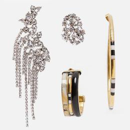 pendenti africani fatti a mano Sconti Orecchini a goccia con frange in vetro di Girlgo Boho per donne, gioielli da sposa, orecchini asimmetrici, brillanti, vintage, orecchino, regali, bijoux