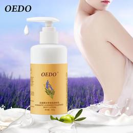 Sahne-lavendel online-OEDO Romantic Lavender Fragrance Körper feuchtigkeitsspendendes Parfüm Body Lotion Feuchtigkeitsspendende Pflegecreme für die Haut