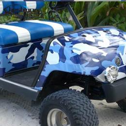 Impressão gráfica em vinil on-line-Azul Jumbo Camo Carro Scooter Vinyl Envoltório Urbano Etiqueta Camuflagem Bomba Gráficos Impressos Pvc Material Folha De Rolo