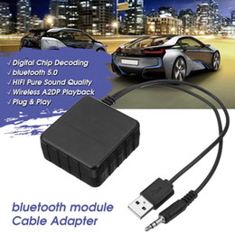 2019 billigste bluetooth telefon Auto Bluetooth Modul AUX Eingang Audio Kabel Adapter Universal USB 3.5mm AUX Musik Player Adapter