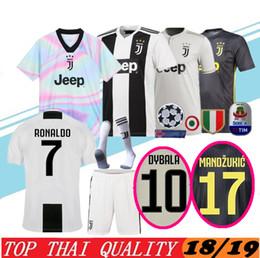 7 RONALDO Juventus Home Third Kit Men Soccer Jersey New 2018 2019 DYBALA  Juventus EA SPORTS JERSEY MANDZUKIC Football Shirts Uniforms 8f506f4ba