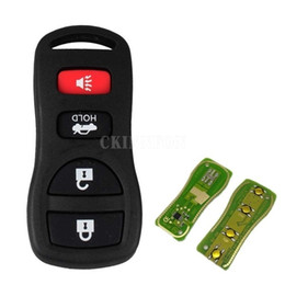 50pcs / Lot Yeni 4 Düğmeler 315 MHZ Yedek Anahtarsız Giriş Uzaktan Kumanda Anahtarlık Clicker Fit For KBRASTU15 Yenileme Tarihi Araba Anahtarı nereden