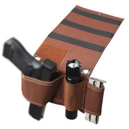 Lanterna escondida on-line-Saco de armazenamento de alta qualidade invisível coldre Car seat Colchão Holster rápido escondido Pode ser equipado com lanternas e clipe.