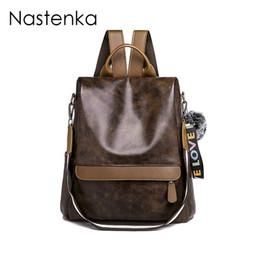 98ed067893 Women Anti-theft Backpack Shoulder Bag Women Backpack School Bag For Teenager  Girls Backpacks Sac a Dos Ladies Leather Backpacks
