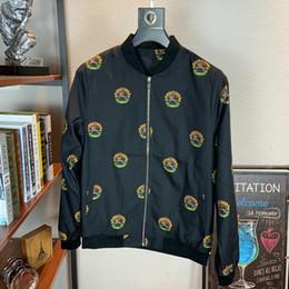 koreanische stil männer s kleidung Rabatt jean8 2019 und Winter neue Muster Male Style Jacke koreanische Ausgabe dünne loser Mantel Man Kleidung Mode für Männer Bild Farbe 09021