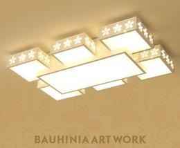 24 zoll rundes glas Rabatt Moderne LED-Deckenleuchter-Lampe Wohnzimmer Schlafzimmer Auran LED-Deckenleuchter Lichter leuchten für Innenhauptbeleuchtung LLFA