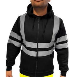 2019 chaqueta de trabajo beige KANCOOLD Hombre Road Work High Pullover Chaqueta para hombre Abrigo Hombre Sudaderas con capucha abrigos 2019 Hombres Negro Pareja Streetwear Hoody bomber jacket 8 rebajas chaqueta de trabajo beige