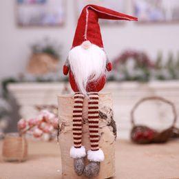 weiße blumen-mittelstücke für hochzeiten Rabatt Cartoon Weihnachtsdekoration Alte Puppe ohne Gesicht Puppe Weihnachtsgeschenk Plüsch-Spielzeug Kreative Kinder Geschenk