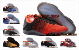 Wholesale Cheap brand Kobe 11 Elite Low 4KB Lost Ghost of Christmas Past kb  XI MEN basketball shoes sports shoes sneakers trainers 328b9785f