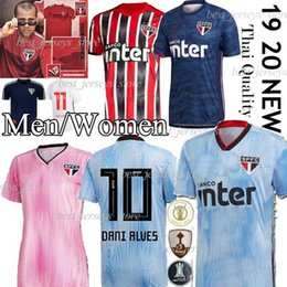 jersey de brasil negro Rebajas Thail DANI ALVES Jersey Sao Paulo NENE Fútbol 2019 camisa 2020 ARBOLEDA REINALDO Brasil del club de fútbol negro Inicio DIEGO