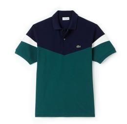 Polo al por menor online-Camisas de polo con estilo de verano de 2019 nuevos hombres, camisas de polo bordadas, soporte gratuito al por mayor y menor