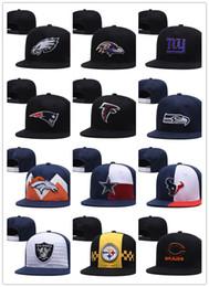 2019 stock di cappelli di snapback New Caps Calcio Snapback Hats 2019 Cap 20 Città Squadre Cappelli Mix Match Ordine Tutti i cappelli in azione Cappello all'ingrosso di alta qualità stock di cappelli di snapback economici