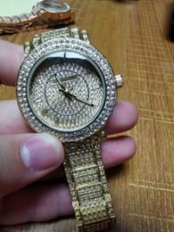 27cac74536bd Señoras de la marca de lujo diamantes relojes oro automático de cuerda para mujer  reloj de cristal de zafiro aaa relojes de pulsera de calidad relogies