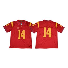 150085221 College Football Stitched Jerseys Online Shopping - Mens USC Trojans Sam  Darnold Stitched Name&Number American College