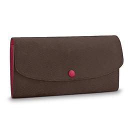 2019 dólar moda designer bolsas Designer de carteira das mulheres carteira flap couro pu bolsas longas carteiras bolsas mulheres bolsas de grife L bolsa de flores