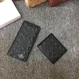 2019 senhoras carteiras de moda Carteira padrão de xadrez de alta qualidade Ladies 'embreagem marca carteira dos homens Padrão de couro preto é simples e elegante carteira AB-53 senhoras carteiras de moda barato