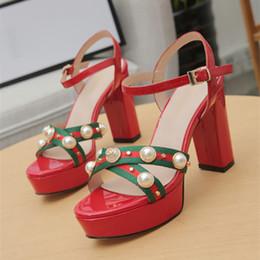 High heels 48 online-2019 mode frauen designer sandalen hausschuhe designer flip flops frauen sandalen designer damen high heels schuhe größe 35-41 -48