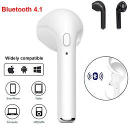 mini bluetooth hören musik Rabatt Drahtloses Headset Bluetooth Headset TWS Einohr Bluetooth 4.1 Headset mit Mikrofon Handy iPhon Hirse Huawei lg