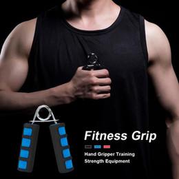 2019 equipo de entrenamiento de agarre Fitness Grip Hand Gripper Entrenamiento Fuerza Ejercitador Outdoor Fitness Equipment Dedo rehabilitación training grip rebajas equipo de entrenamiento de agarre