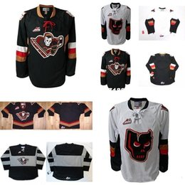 444a5a83 Best quality Customize Mens Womens Kids WHL Calgary Hitmen Embroidered  Hockey Jerseys Goalit Cut shirts Custom Any name NO. Jerseys mens shirt  cutting on ...