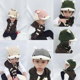 33fcaf6b9b4 Kids Winter Earmuffs Online Shopping - Puppy Lei Feng Thicken Wool Hat  Childrens Plus Velvet Childrens