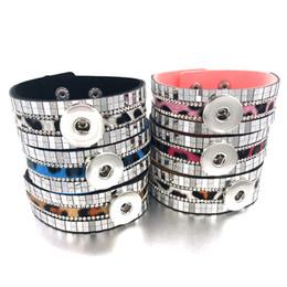 Deutschland Mode Bling Bling Austauschbar 327 Strasssteine Samt Armband 18mm Druckknopf Schmuck Charme Armreif Für Frauen Geschenk Versorgung