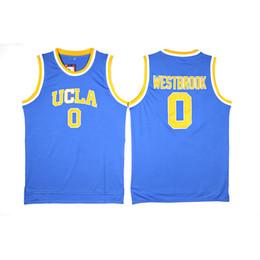 Mens Russell Westbrook Collezione Jersey UCLA Bruins College Basketball Maglie di alta qualità cucita NomeNumber Taglia S-2XL da