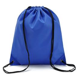 Sacchetto di immagazzinaggio della cinghia di coulisse di sport Thicknen Oxford che impermeabilizza lo zaino dell'organizzatore delle scarpe della borsa di forma fisica della borsa di riciclaggio dello zaino cheap bag for cycling gym da borsa per palestra di ciclismo fornitori
