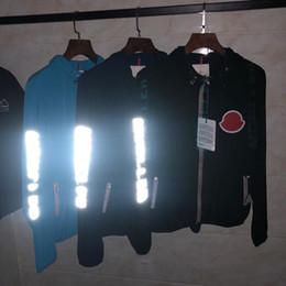 Толстовка с капюшоном онлайн-Европейский топ мода известный дизайнер балахон мужские куртки молния контроля доступа дышащий солнцезащитный крем три стандартных комплектных пальто