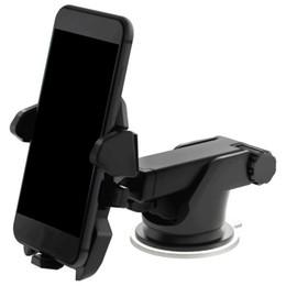 Supporto per finestre online-Supporto universale del telefono dell'automobile del supporto da 360 gradi Supporto del cruscotto del parabrezza del parabrezza regolabile della finestra per tutti i supporti di GPS del cellulare