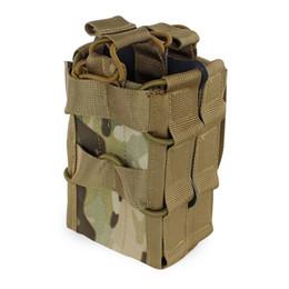 Doppia mag-bag online-Custodia per caricatore Molle System 1000D Borse di stoccaggio in nylon a doppio strato Airsoft Tactical per AK AR M4 AR15 Custodia per pistola per fucile
