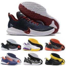 Migliori scarpe da basket a buon mercato online-2019 Nuovo arrivo a buon mercato Mens Kobe Mamba Focus EP scarpe da basket Migliore qualità Bianco Giallo Designer di lusso Sneakers Taglia 40-46