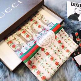 Роскошные женские дизайнерские шарфы из Европы и Америки, высококачественные длинные шелковые шарфы, классические рисунки с принтом, бесплатно от