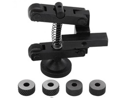 Porte-outil de moletage durable de haute qualité molette linéaire outils tour tige réglable + 6pcs CR15 20mm roues pour roulement mini axe de tour ? partir de fabricateur