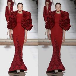 d0eafcd595 Tony Ward 2019 Vestidos de noche con chaqueta Apliques de raso Sirena  Vestido de fiesta Largo del piso Tallas grandes Vestidos de fiesta formales  rebajas ...