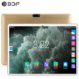 New 10,1 polegadas Tablet PC 3G / 4G Phone Call 8GB / 128GB Ten núcleo MTK Android 9.0 Wi-Fi Bluetooth Dual SIM Original Tablet PC de