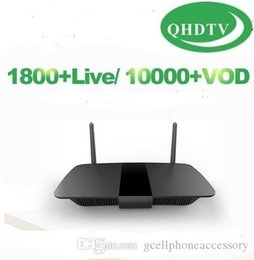 Caja de tv android árabe online-Q1504 Android 8.1 RK3229 H.265 QHDTV suscripción Francia árabe Francia Países Bajos Bélgica QHDTV 1 Año inteligente Android TV Box