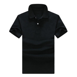 Stili di abbigliamento per uomo online-NewS-6XL Brand new mens polo uomo Top ricamo coccodrillo uomini manica corta camicia in cotone maglie polo shirt vendita calda uomini abbigliamento