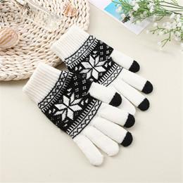 Wholesale 2019 femmes hommes multi fonction tricoté écran hiver gants doux mitaine chaude pour iPhone smartphones tablette portable gants tricotés