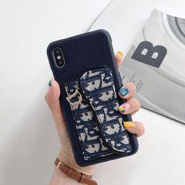 модели телефонов Скидка Роскошные бренды дизайнерские чехлы для телефона для iphone 6/7/8 плюс искусственная кожа Модные модели Phone Back для Samsung Galaxy S7 S8 S9 S10 S10PLUS NOTE8