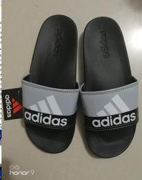 2019 imprimantes de marque Marque nouvelle 2019 Grande Taille Hommes Couple Sandales Imprimante douce Pantoufles Chaussures Tongs Slide Designer De Mode Livraison Gratuite imprimantes de marque pas cher
