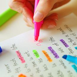6 Цвет наклонная головка маркеры ручка пастель жидкий мел маркер флуоресцентный Milkliner маркеры цвет ручка маркер от Поставщики копировальный маркер оптом