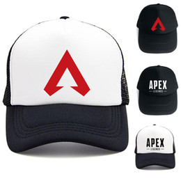04aa4a7bdd2 Apex legends Game Caps Summer Mesh Fashion Outdoor Baseball Cap Hip Hop hat  Protector Sun Hats For men Women Party Hats HH7-2005