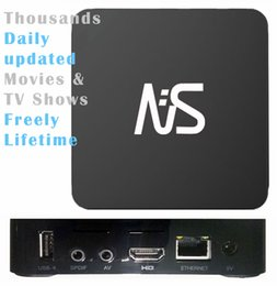 1 pz MXQ MXQpro MXQplus, Migliaia di programmi TV aggiornati quotidianamente TV, S905W / RK3229 / H3 Quad core 4K, Smart TV 7.1 Box TV, spedizione gratuita da scatola di android tv che spedice liberamente fornitori