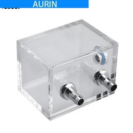 Canada Réservoir acrylique de refroidissement par l'eau de PC de port de fil d'AURIN 200ml G1 / 4 pour le système de refroidissement par l'eau d'ordinateur de PC avec le bloc d'eau de connecteur de tube Offre