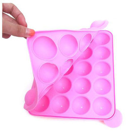 cake pops mould cupcake Coupons - 2019 Hot Sale New Silicone Tray Pop Cake Stick Pops Mould Cupcake Baking Mold Party Kitchen Tools