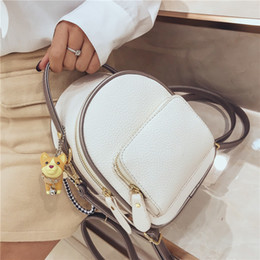 d9e3ff6dd38d Free Shipping 2019 New Women Small Backpacks Fashion Casual Backpacks Trend  Shoulders Bag Korean Version Woman Shoulder Bag