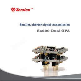 1 PCS Tipo horizontal de alto rendimiento OPAMP MOING SA-200 Partes totalmente discretas Amplificador de operación DUAL Amplificador de potencia accesorio HI END desde fabricantes